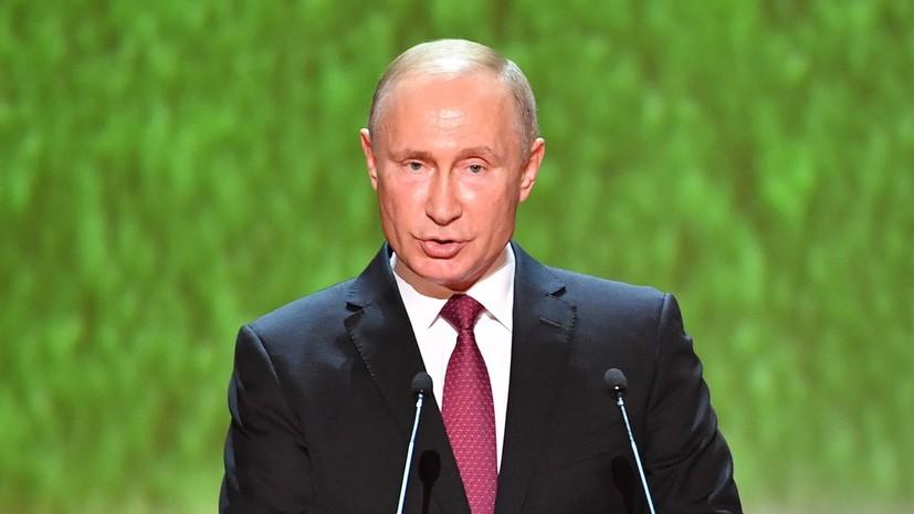 Путин поблагодарил премьера Венгрии за высокую оценку ЧМ-2018