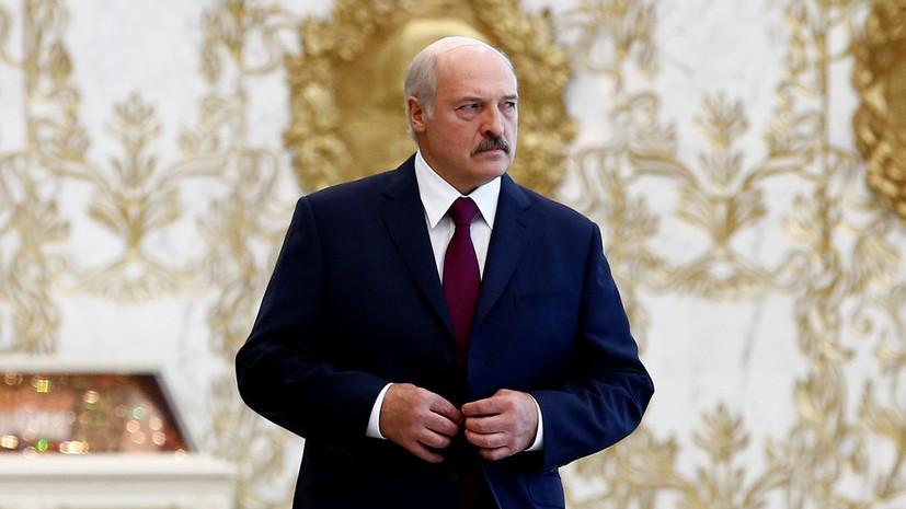 Лукашенко прибыл в Москву на финал ЧМ-2018