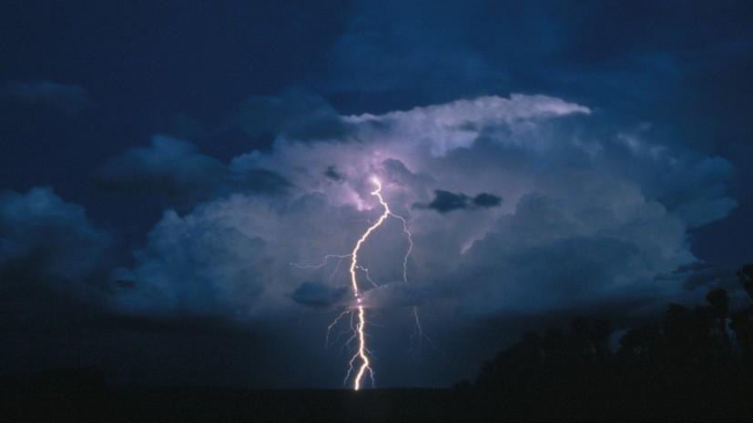 В Ростовской области при ударе молнии пострадали пять человек
