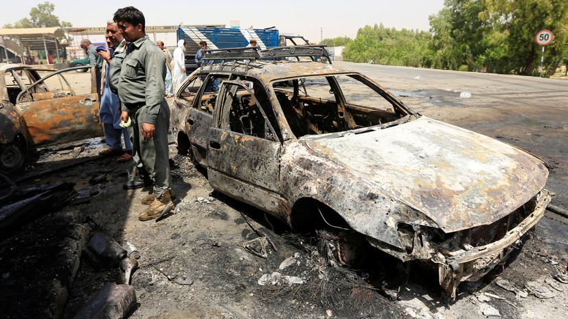 Шесть человек погибли при взрыве в Кабуле
