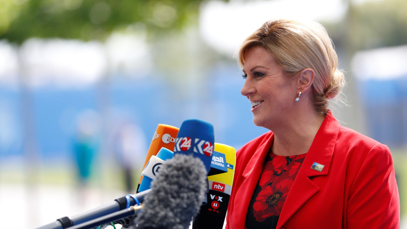 Грабар-Китарович: Хорватия на вершине мира независимо от результата финала