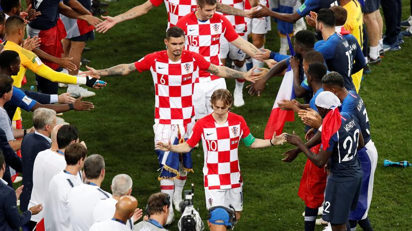 «Мы были удивлены работой арбитра»: игроки сборной Хорватии остались недовольны судейством в финале ЧМ-2018