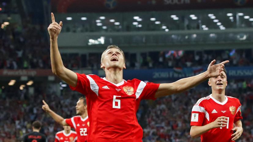 Два мяча Черышева номинированы на звание лучшего на ЧМ-2018