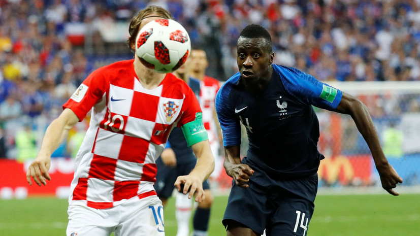 Игрок сборной Франции Матюиди посвятил победу на ЧМ-2018 жертвам терактов