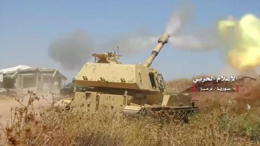 В Сирии в провинции Дараа боевики за две недели сдали 26 танков