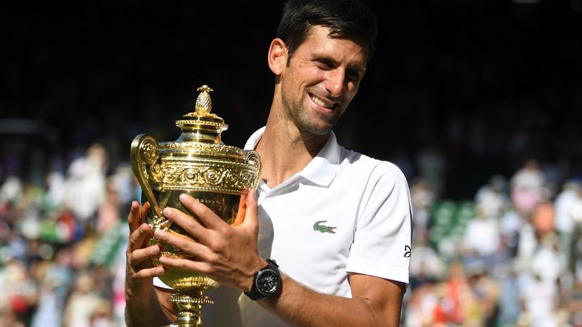Джокович вернулся в топ-10 мирового рейтинга теннисистов ATP