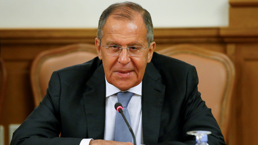 Лавров высоко оценил переговоры Трампа и В.Путина