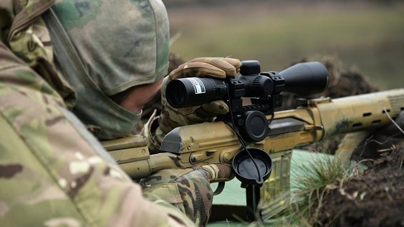В ЛНР заявили о наращивании ВСУ группировки снайперов в Донбассе