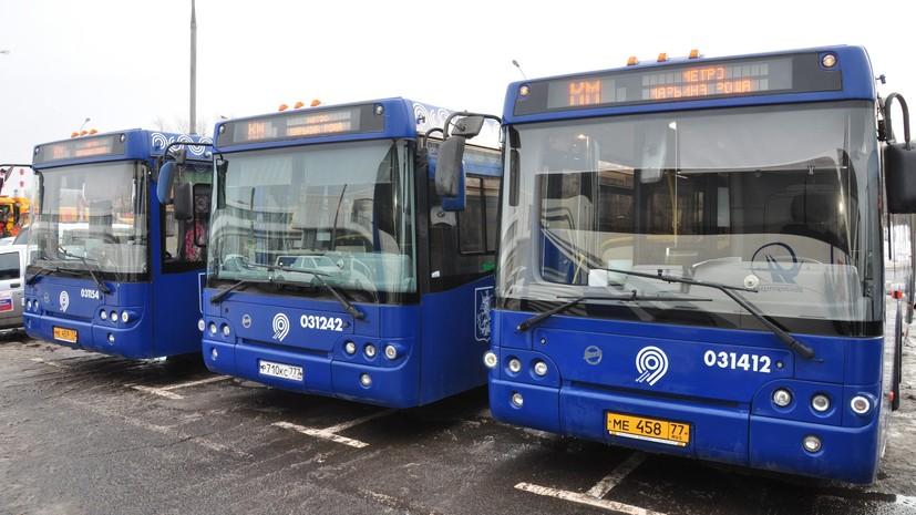 Бесплатные автобусы перевезли более 85 тысяч пассажиров во время ремонта участка Филёвской линии
