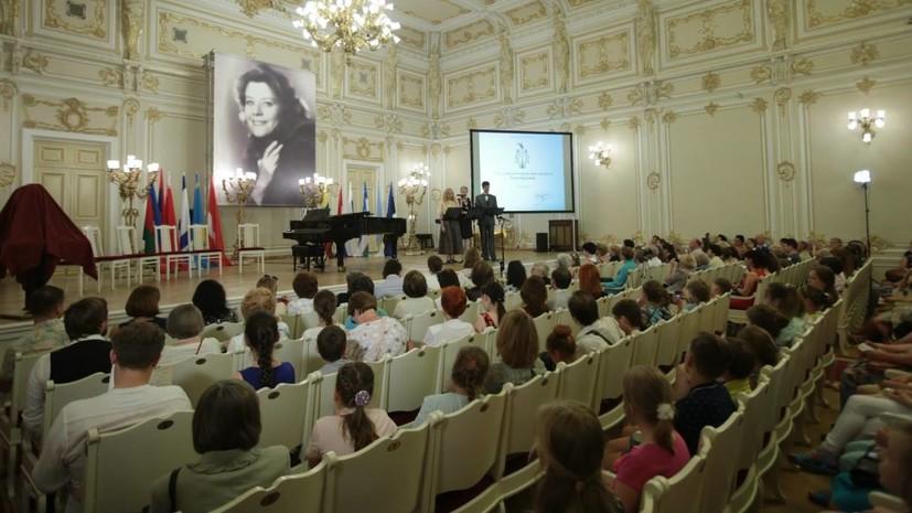 В Петербурге начинает работу Международный конкурс Елены Образцовой для юных вокалистов