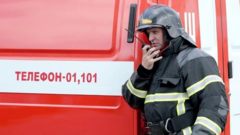 В Калининградской области эвакуировали 40 человек из-за пожара в жилом доме