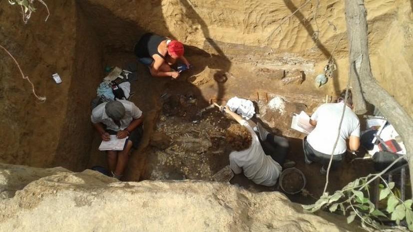 В Оренбургской области обнаружили крупное захоронение савроматов