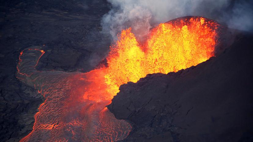 В результате выброса лавы на Гавайях пострадали 23 туриста