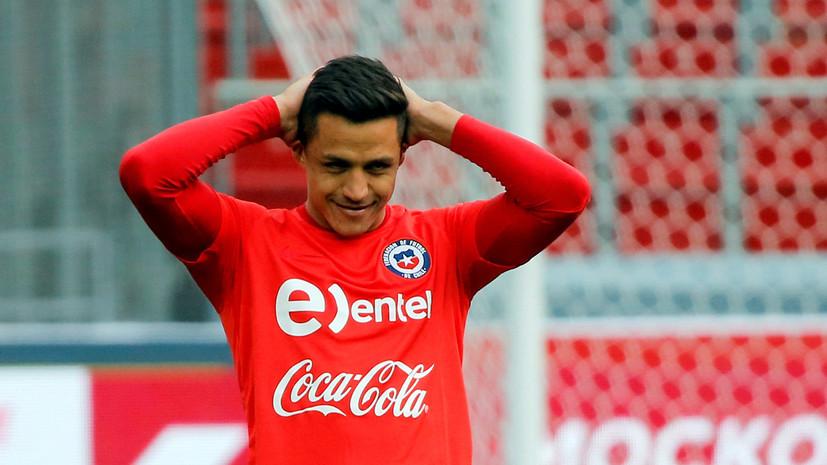 СМИ: Футболист МЮ Санчес не участвует в турне в США из-за отказа в выдаче визы
