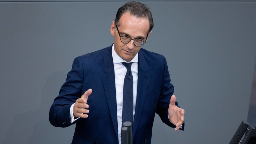 Руководитель МИД Германии призвал к последующему дипломатическому сближению РФ иСША