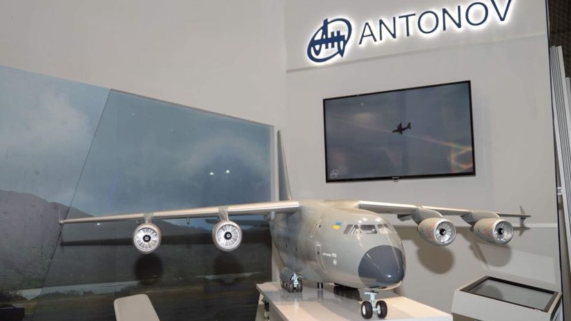 Гордость Украины самолет «Ан-178» представят всему миру намеждународном авиакосмическом салоне