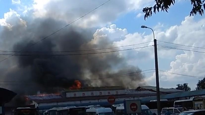 В Солнечногорске локализован пожар в закрытом ТЦ