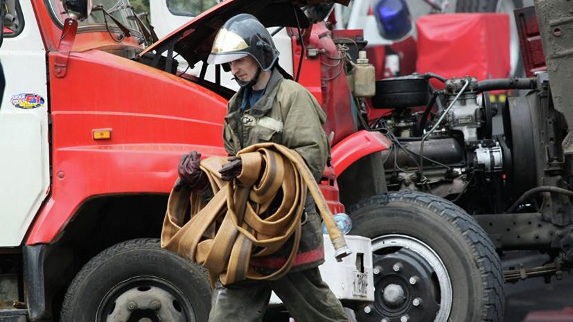В Солнечногорске ликвидирован пожар в закрытом ТЦ