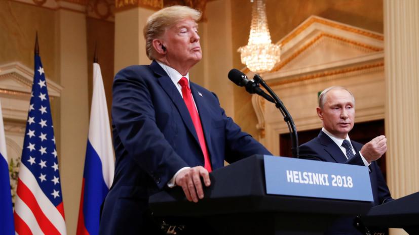 Трамп заявил, что его встреча с Путиным была лучше саммита НАТО
