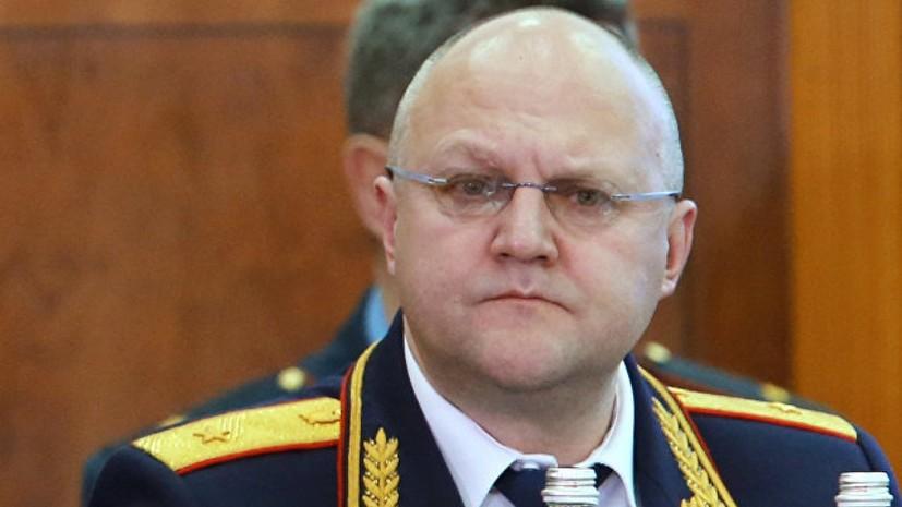 Следствие просит арестовать задержанного бывшего начальника Главного управления СК России
