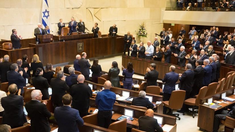 Парламент Израиля лишил премьера и министра обороны полномочий объявлять войну