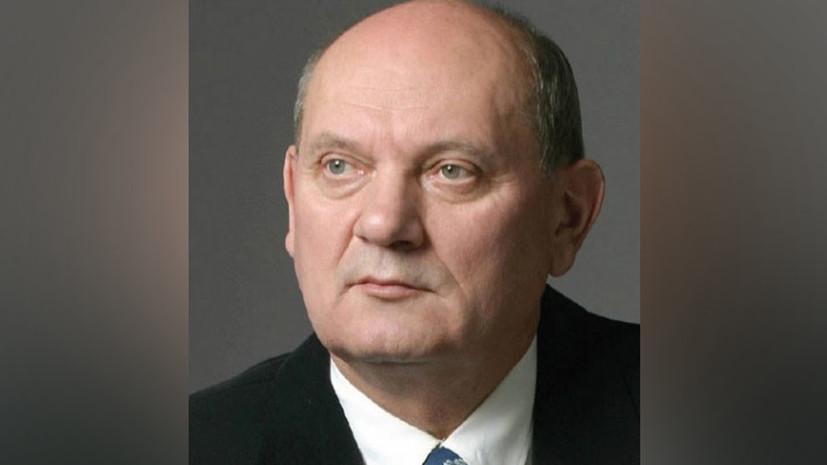 ВКрасноярске скончался заслуженный артист Российской Федерации Владислав Жуковский
