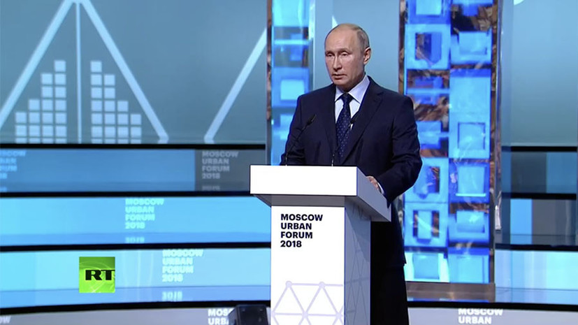 Путин рассказал о масштабной программе пространственного развития России