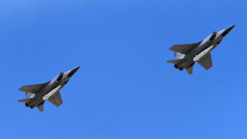 ВКС России провели более 350 полётов оснащённой комплексами «Кинжал» эскадрильи