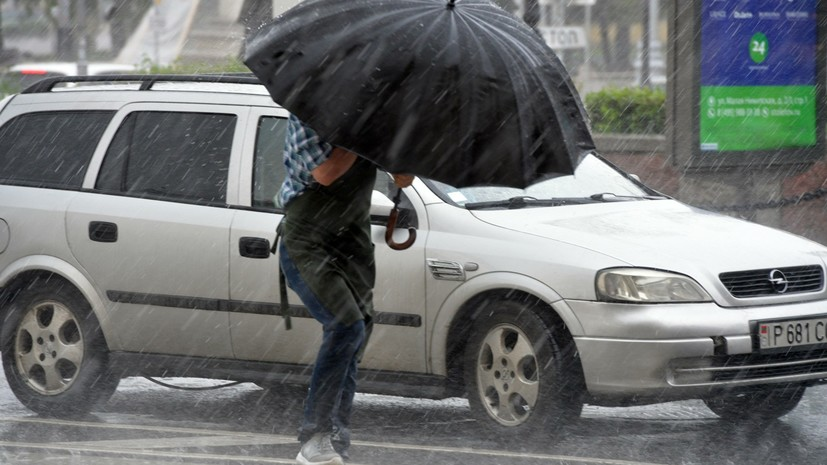 Гидрометцентр продлил «жёлтый» уровень погодной опасности в Москве на 20 июля
