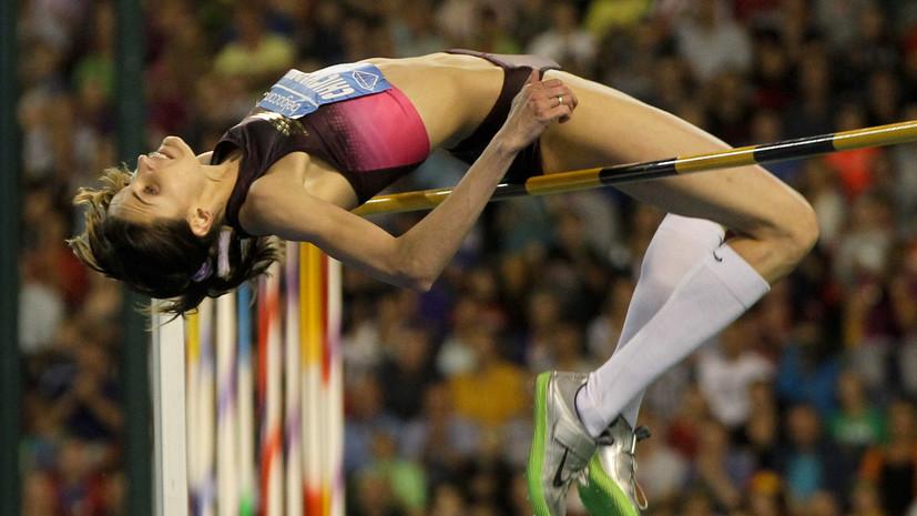 IAAF разрешила легкоатлетке Чичеровой выступать на национальных соревнованиях