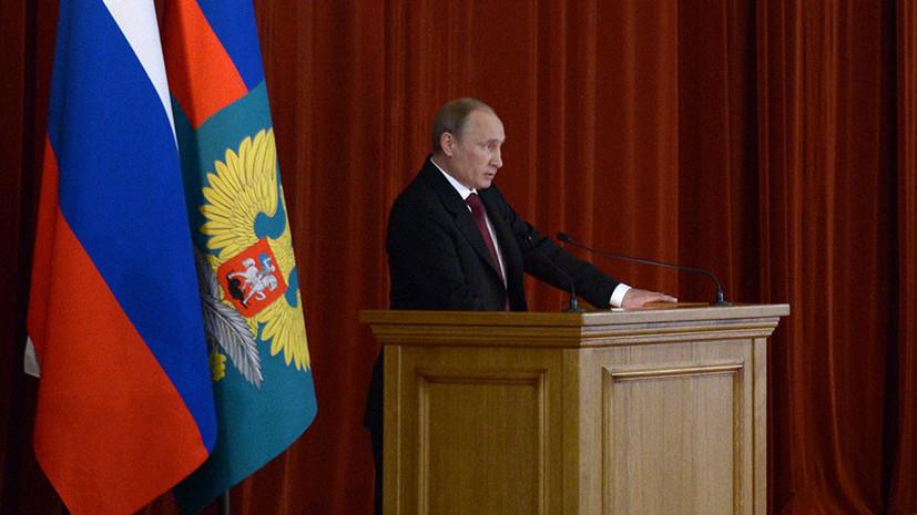 Путин заявил о рисках обострения ситуации на юго-востоке Украины