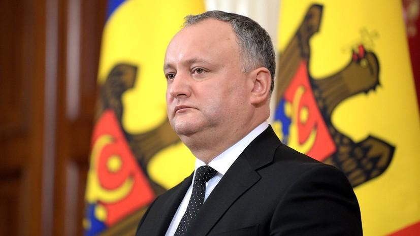 Додон предложил разработать концепцию постоянного нейтралитета Молдавии