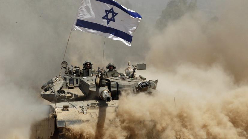 Израильский танк атаковал позиции ХАМАС в секторе Газа