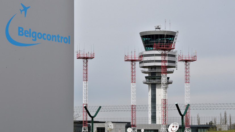 В Бельгии закрыто воздушное пространство из-за компьютерного сбоя
