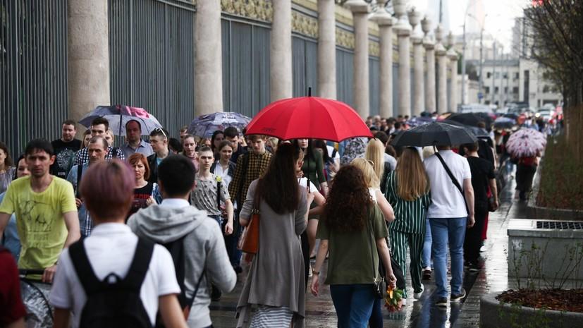 МЧС предупредило об очень сильном дожде в ночь на 20 июля в Москве