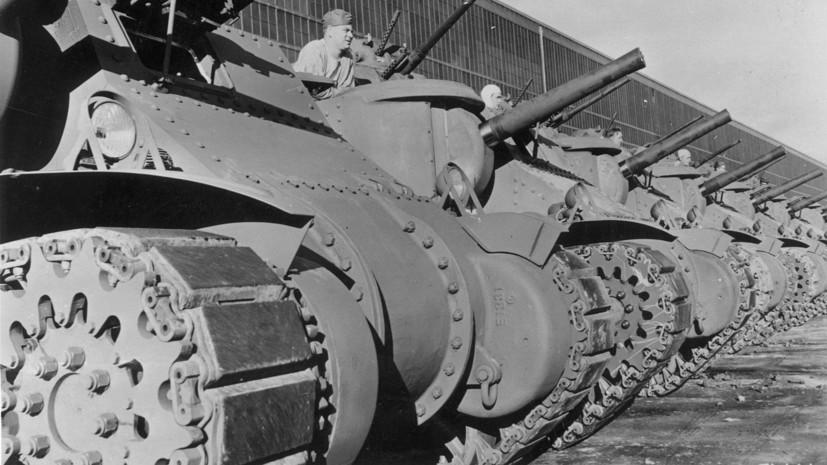 Со дна Баренцева моря подняли американский танк, затонувший в годы Второй мировой войны