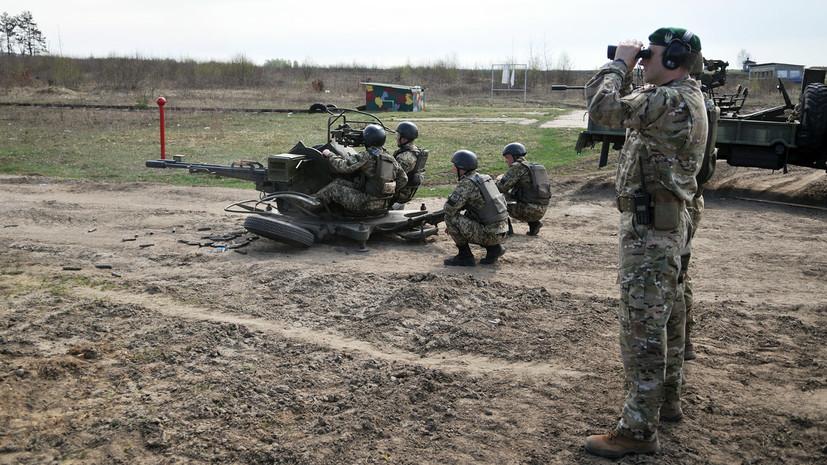 В МВД Украины рассказали о задачах погранслужбы по Донбассу