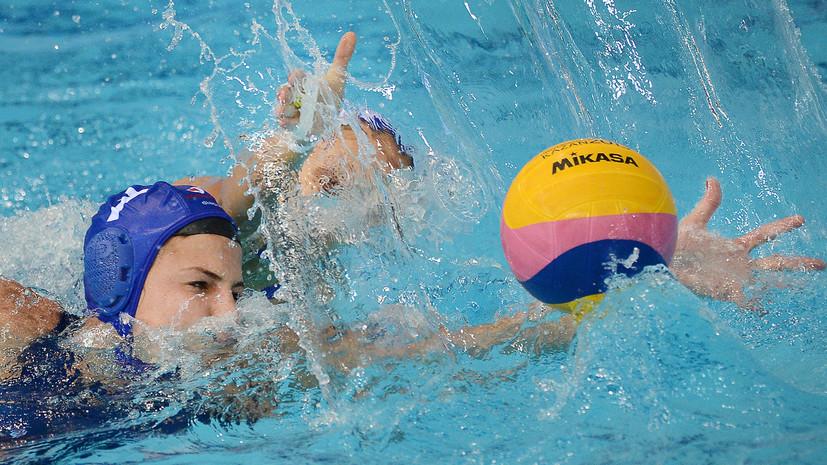Женская сборная России по водному поло потерпела первое поражение на чемпионате Европы, уступив Венгрии