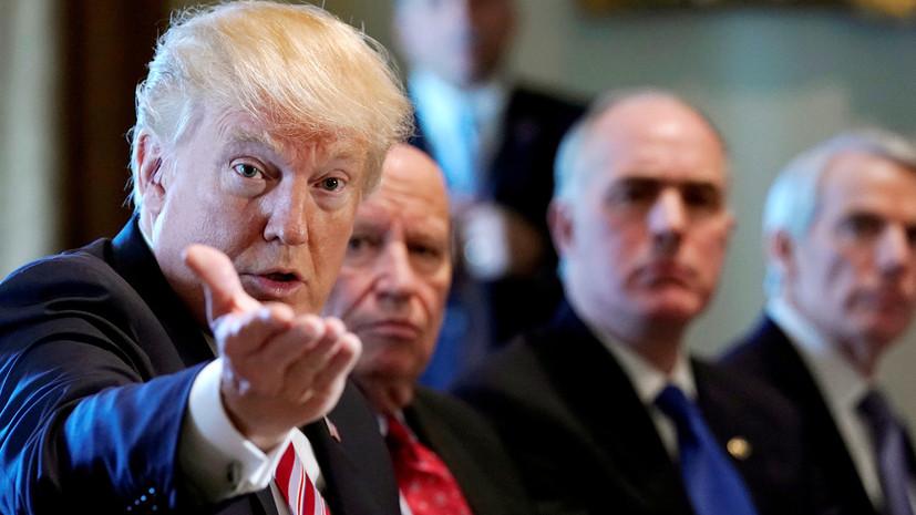 Трамп дал поручение пригласить Путина осенью в Вашингтон