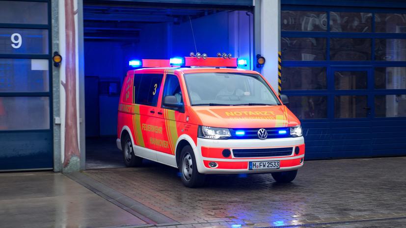 Неизвестный напал с ножом на пассажиров автобуса в Германии