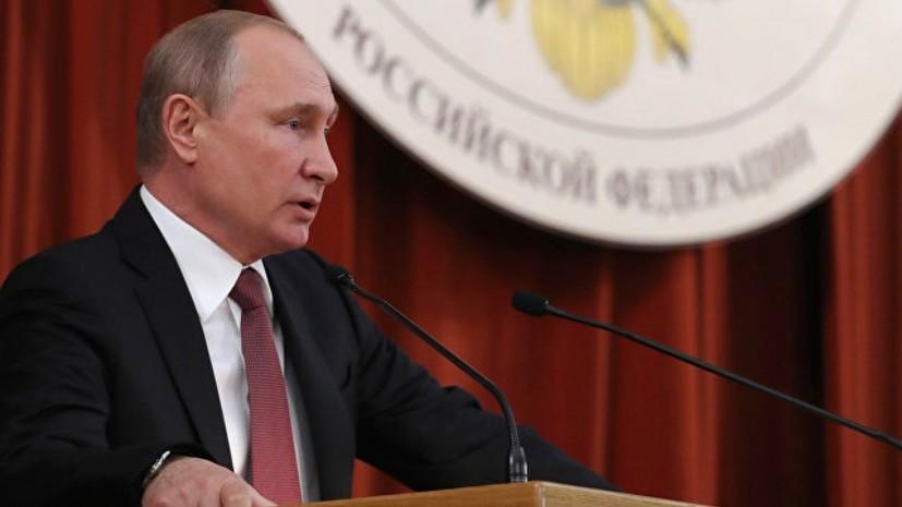 Путин не исключил, что Россия может принять летние Олимпийские игры