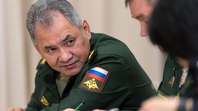 Шойгу и глава Минобороны Израиля договорились усилить координацию между военными в Сирии