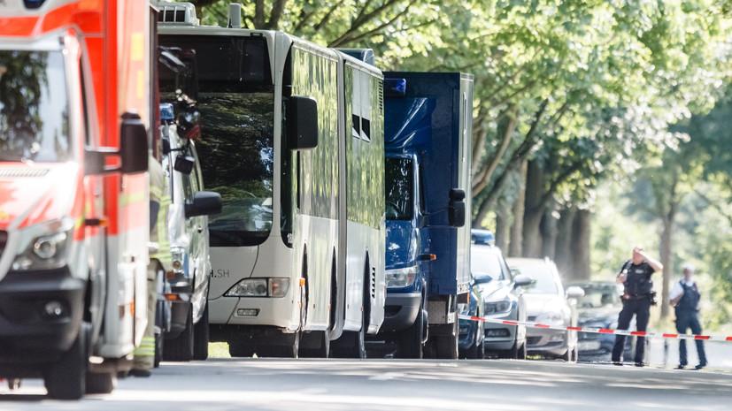 Немецкая полиция не нашла террористического следа в нападении в автобусе Любека