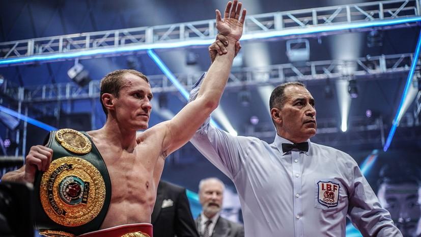 Трояновский сразится за титул чемпиона мира по боксу в четвертьфинале второго сезона WBSS