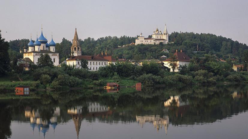 Путин поздравил жителей Гороховца с 850-летием города