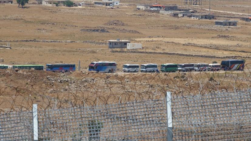 В Сирии из юго-западной зоны деэскалации вывезли более 2,7 тысячи человек