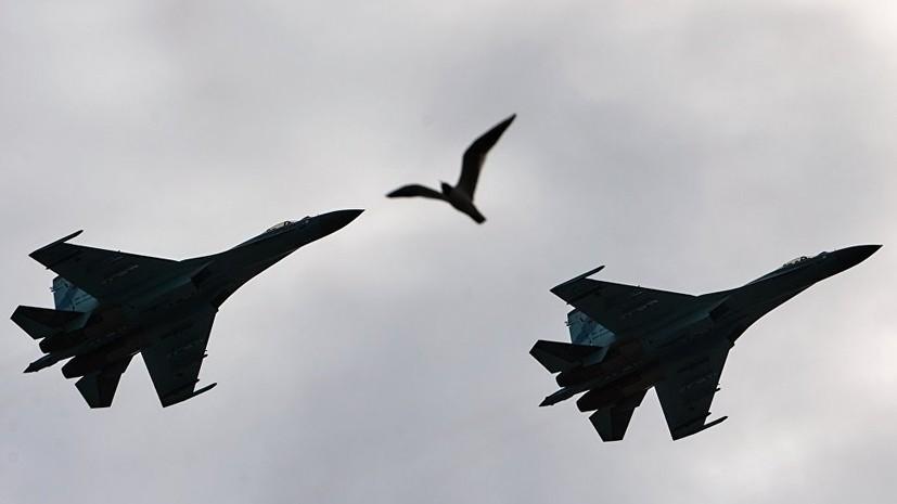 Лётчики Балтийского флота в ходе тренировки отработали элементы воздушного боя