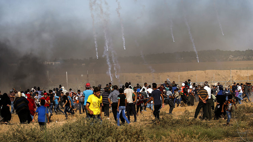 «В состоянии затишья»: СМИ сообщили об установлении перемирия на границе Израиля и сектора Газа