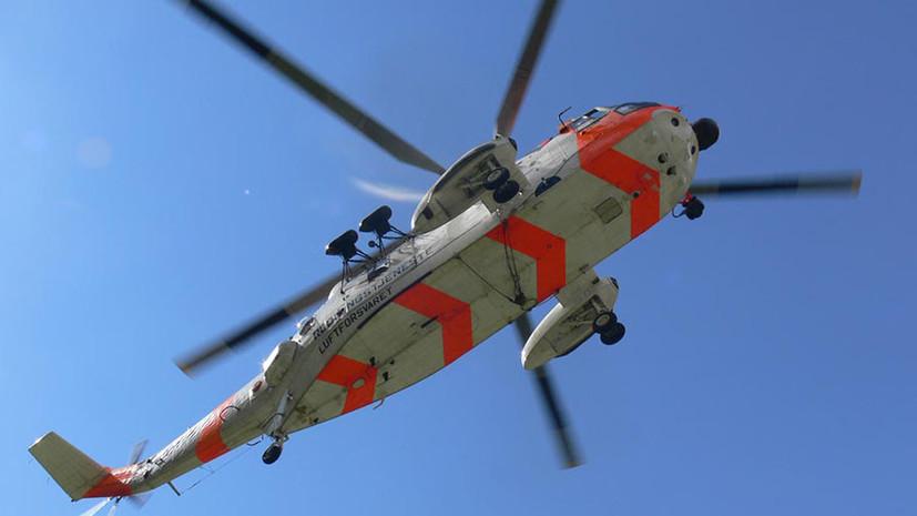 В Финляндии потерпел крушение норвежский вертолёт