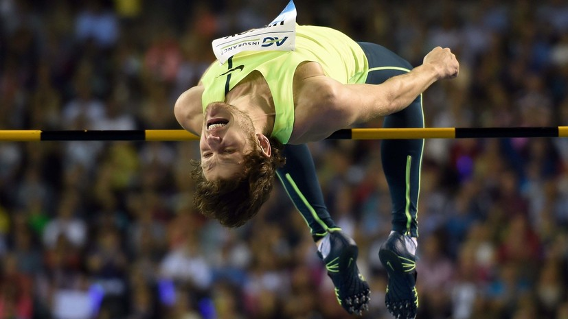 Находящийся под подозрением IAAF Ухов выиграл чемпионат России по прыжкам в высоту